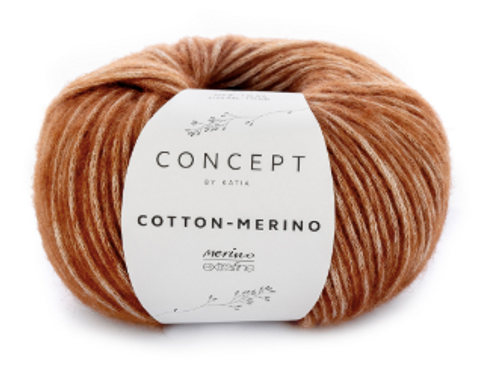 118 Gold Cotton Merino