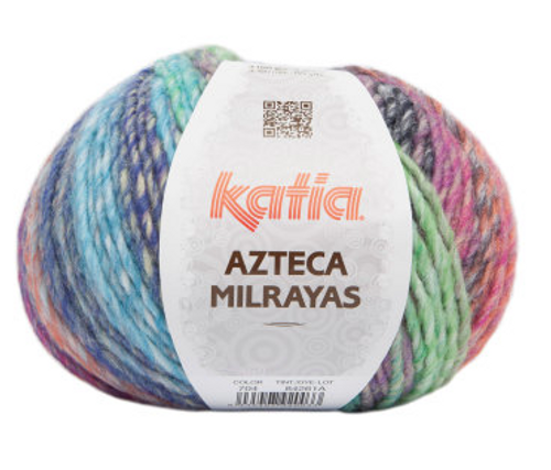 704 Yellow-Green-Blue-Orange-Fuchsia Azteca Milrayas