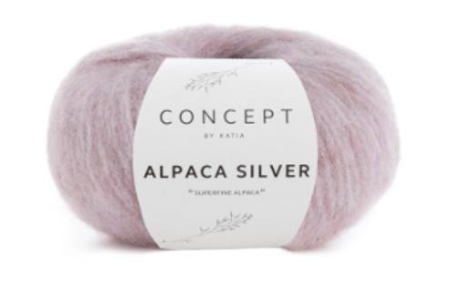 252 Light Pink Alpaca Silver
