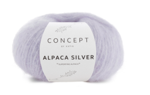 265 Light Lilac Alpaca Silver