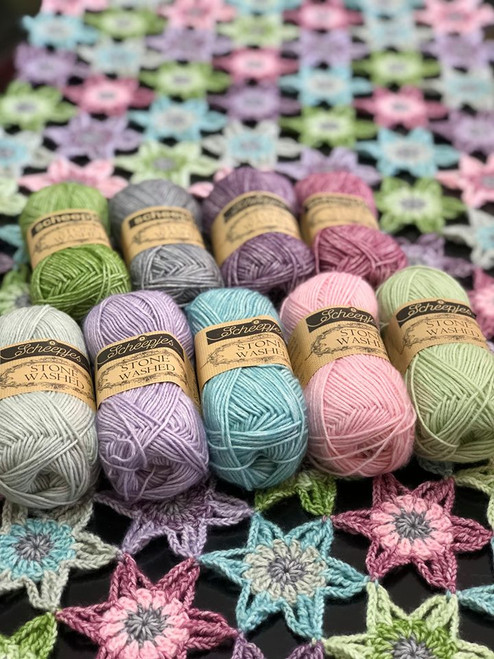 Spring is in the air Shawl Kit