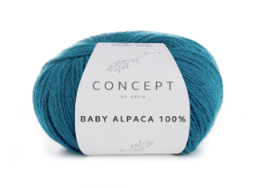 Baby Alpaca 100% - 515 Green Blue