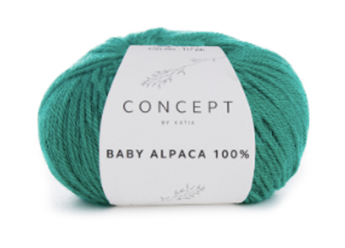 Baby Alpaca 100% - 514 Light Green