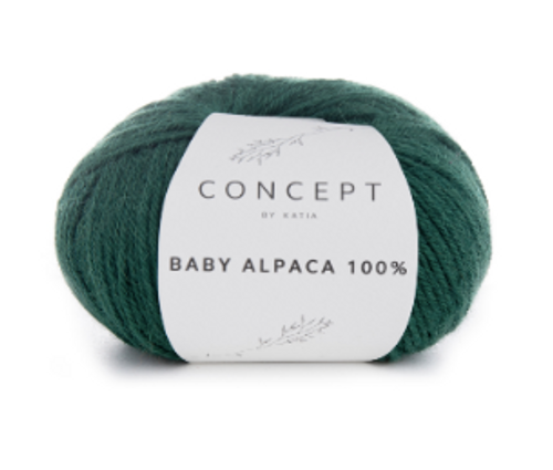 Baby Alpaca 100% - 516 Bottle Green