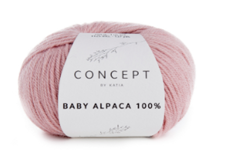 Baby Alpaca 100% - 506 Light Pink