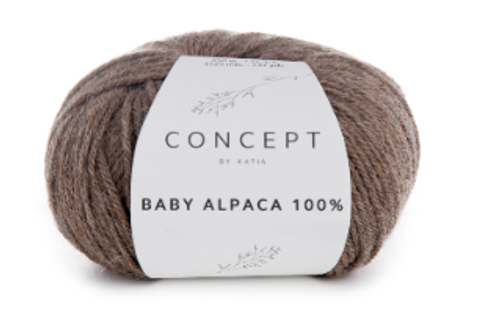 Baby Alpaca 100% - 501 Fawn Brown