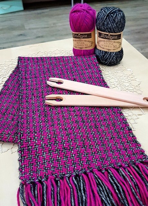 Houndstooth Weaving- Rigid Heddle Loom Workshop Saturday 27th March 2021 10am to 1pm