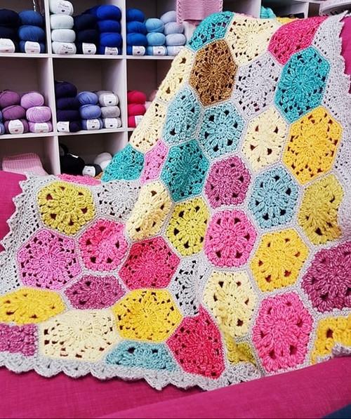 Scheepjes Confetti Blanket Kit