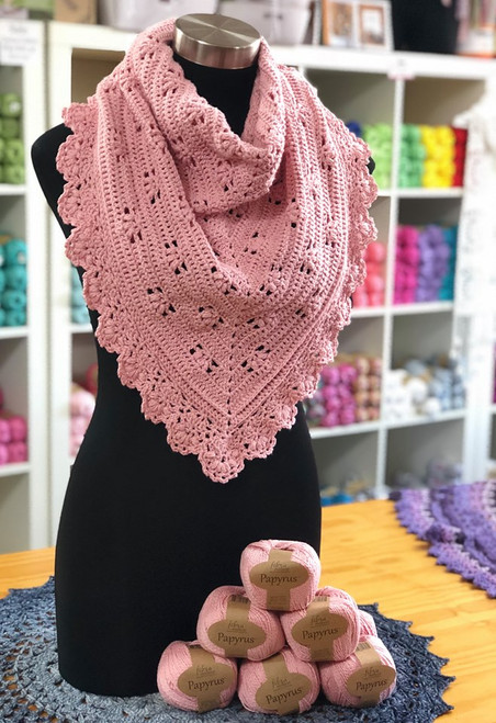 Victoria Shawl Crochet Kit