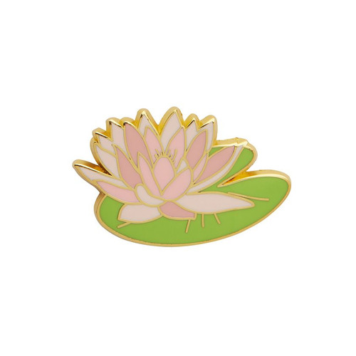 Enlightened Waters Enamel Pin