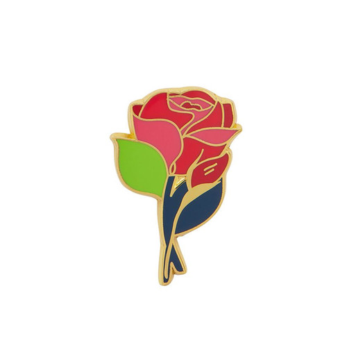 Budding Romance Enamel Pin