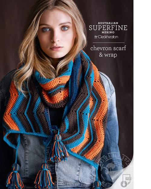 Chevron Scarf and Wrap