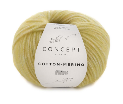 130 Yellow Cotton Merino
