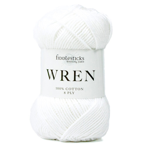 Fiddlestocks Wren 002 White