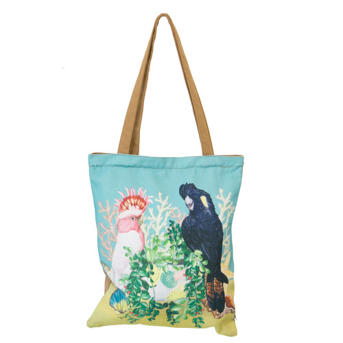 Tote Bag Coastal Abode