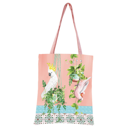 Tote Bag Tropical Abode