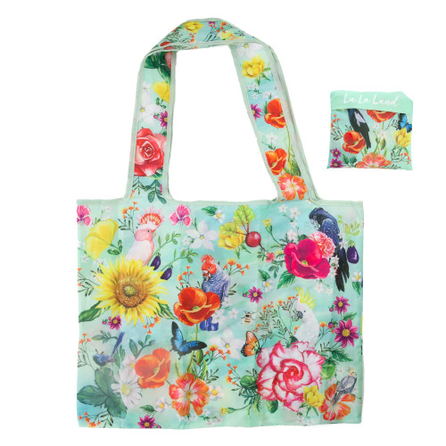 Foldable Shopper Bag Secret Garden Birds