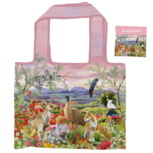 Foldable Shopper Bag Nature Dwellings