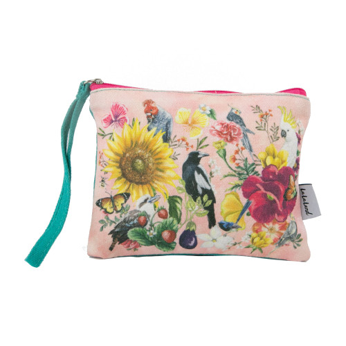 Coin Purse Secret Garden Birds