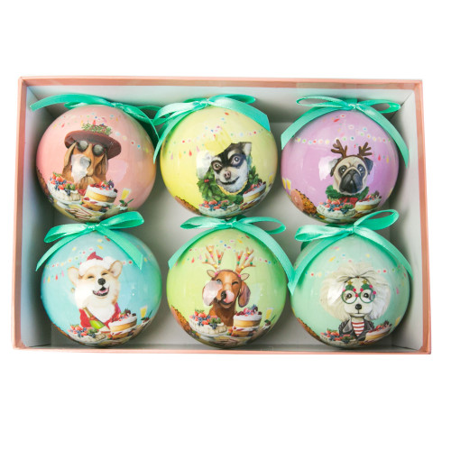 Bauble Set Canine Christmas