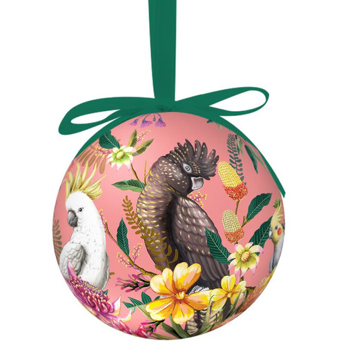 Single Bauble Floral Paradiso