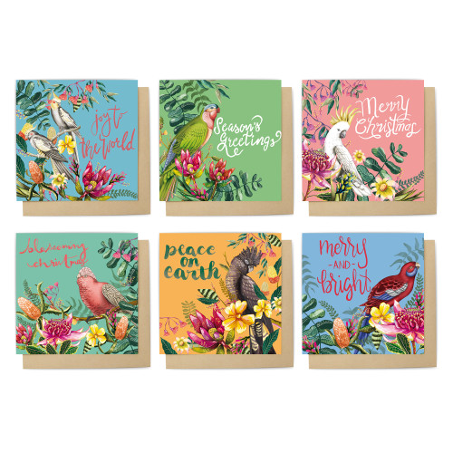 Card Set Floral Paradiso