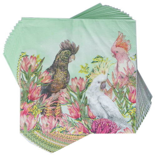 Party Napkins Cockatoos Of Australia