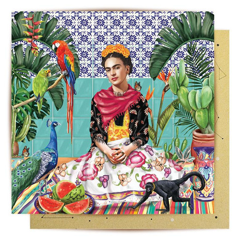 Mini Card Frida's Paradise