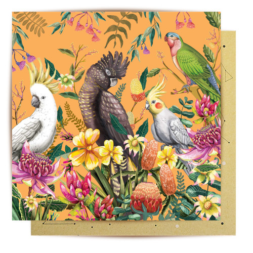 Mini Card Floral Paradiso