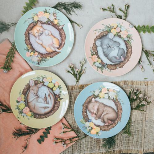 Plate Set Nested Babies