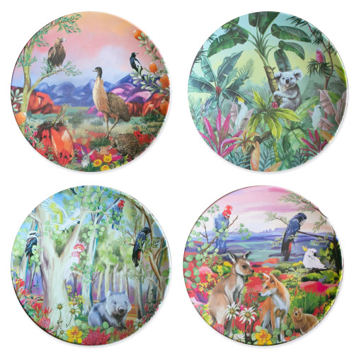 Plate Set Nature Dwellings