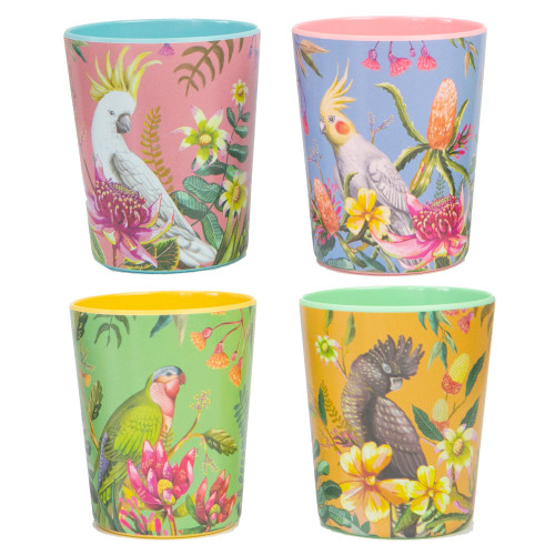 Cup Set Floral Paradiso