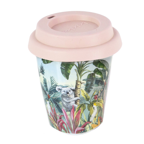 Ceramic Coffee Cup Nature Dwellings Tropical