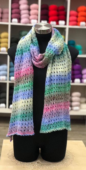KNIT Noro Eyelet Scarf Kit