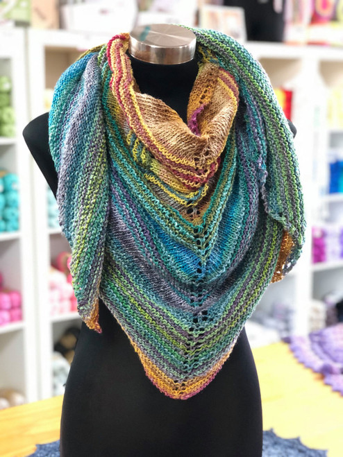 KNIT Shawl of Secrets Kit
