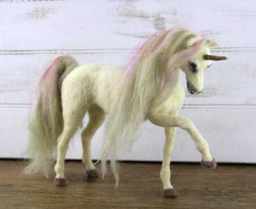 Una the Unicorn Needle Felting Kit