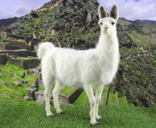 Lennon the Llama Needle Felting Kit