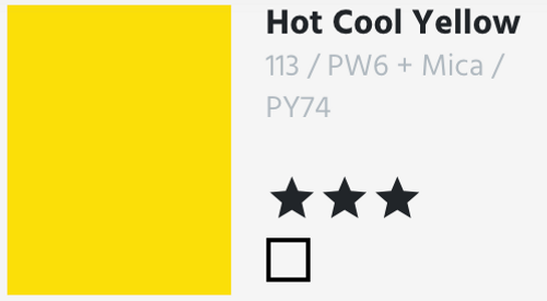 Hot Cool Yellow