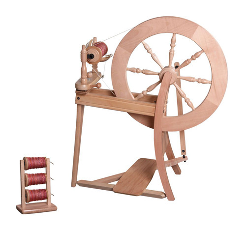 Traditional Single Drive Spinning Wheel