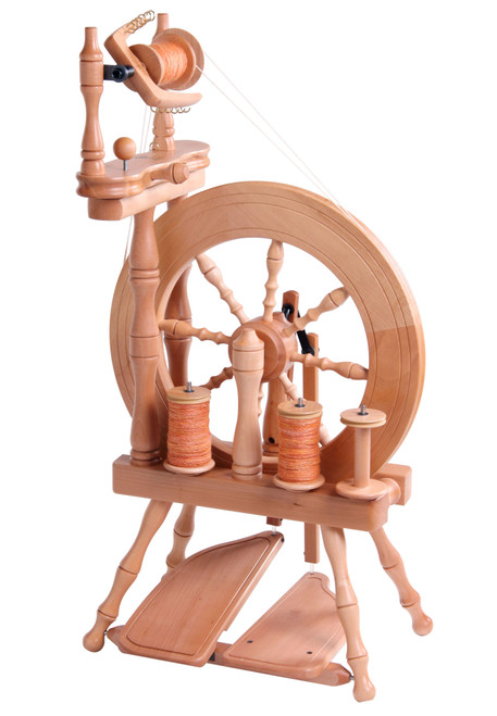 Traveller Double Treadle Double Drive Spinning Wheel