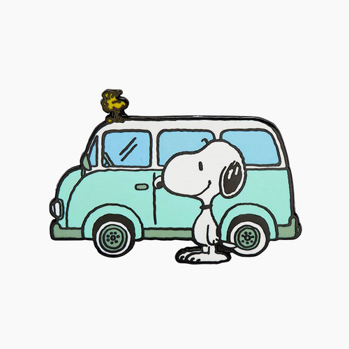 Erstwilder Snoopy On the Road Enamel Pin