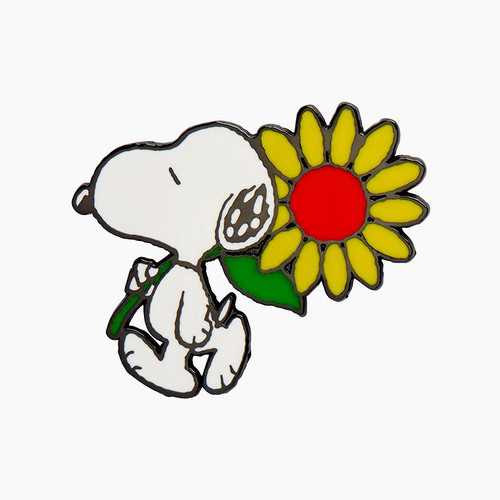 Erstwilder Snoopy's Sunflower Enamel Pin