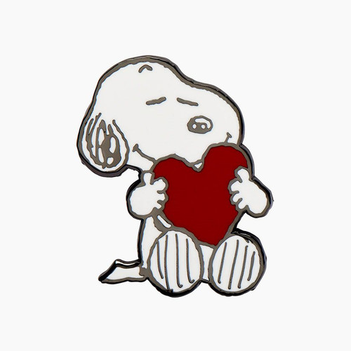 Erstwilder Snoopy's Big Heart Enamel Pin