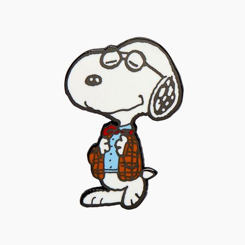 Erstwilder Professor Snoopy Enamel Pin