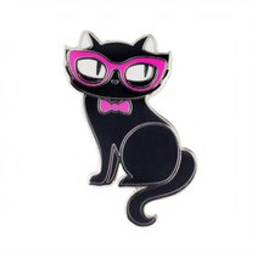 Erstwilder Elissa the Indie Cat Enamel Pin