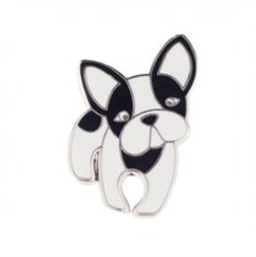 Erstwilder Fabian the French Bulldog Enamel Pin