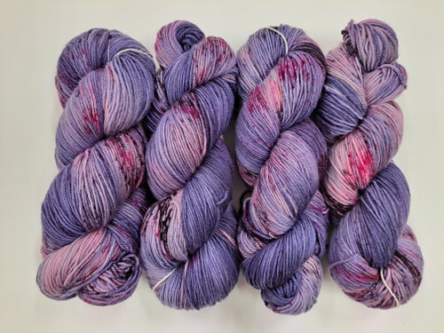 Lush 4ply Sock 'Purple Party'