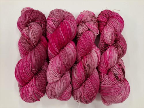 Lush 4ply Sock 'Hot Wine'