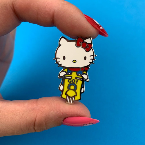 Erstwilder Hello Kitty Scooter Enamel Pin