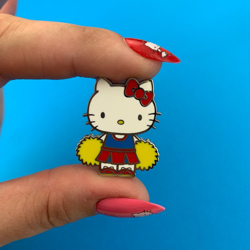 Erstwilder Hello Kitty Cheerleader Enamel Pin